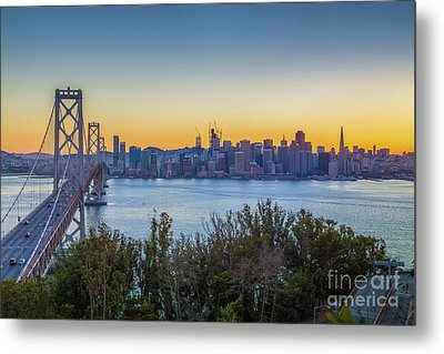 Treasure Island Sunset Metal Print by JR Photography