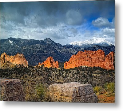 Treasures Of Colorado Springs Metal Print
