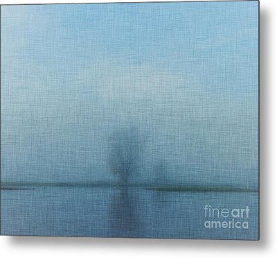 Tree Among Waters Metal Print