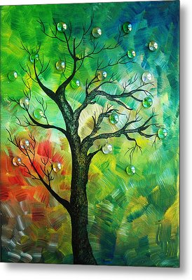 Tree Fantasy Metal Print by Ramneek Narang