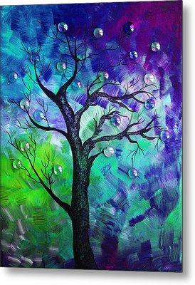 Tree Fantasy3 Metal Print by Ramneek Narang