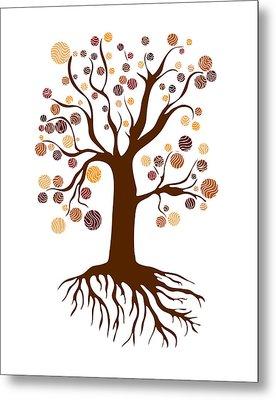 Tree Metal Print by Frank Tschakert