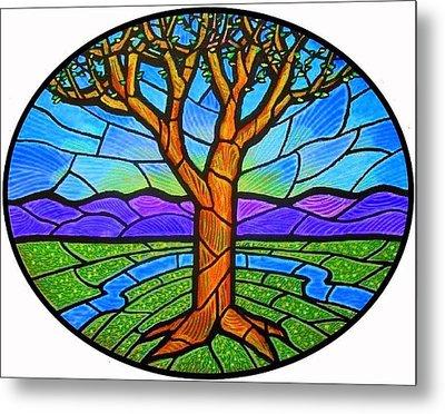 Tree Of Grace - Spring Metal Print