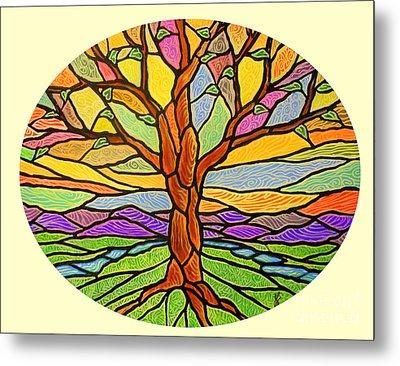 Tree Of Grace 2 Metal Print