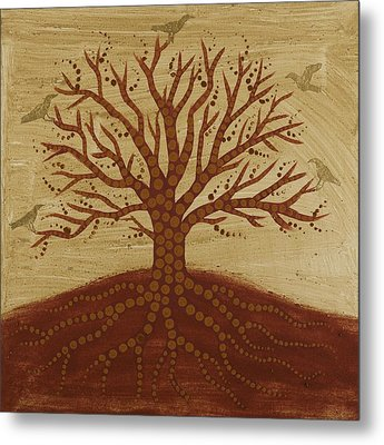 Tree Of Life 3 Metal Print by Sophy White