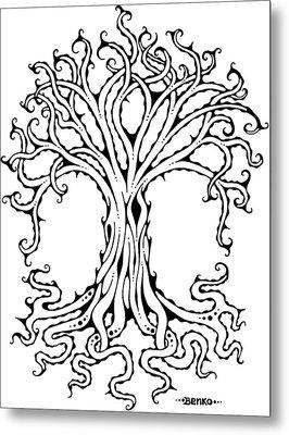 Tree Of Life Metal Print by John Benko