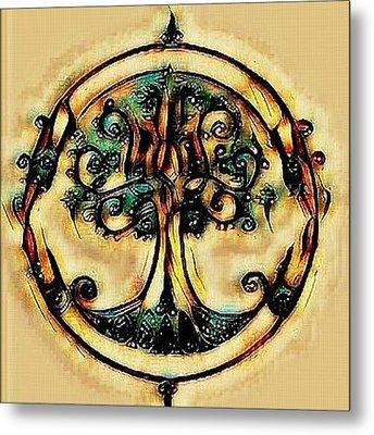 Tree Of Life Metal Print by Joshua Massenburg