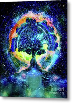 Tree Of Life Metal Print by Nari Anastarsia
