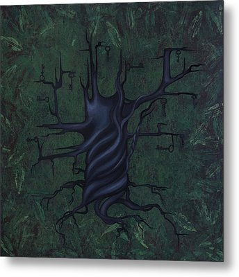 Tree Of Secrets Metal Print