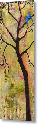 Tree Print Triptych Section 1 Metal Print