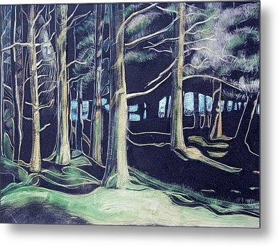 Tree Spirit Metal Print by Grace Keown