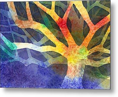 Tree Metal Print by Yevgenia Watts
