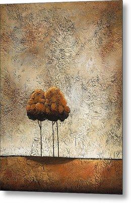 Trees 3 Metal Print by Jane Hunt