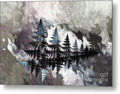 Trees Metal Print by Geraldine DeBoer