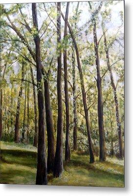 Trees Metal Print by Lorna Skeie