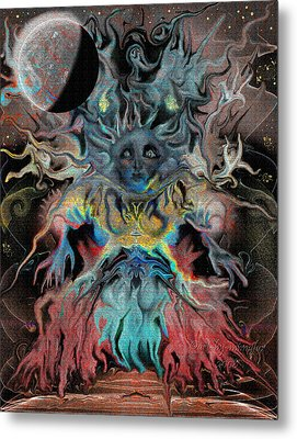 Treewoman Awakens Metal Print by Mimulux patricia no No