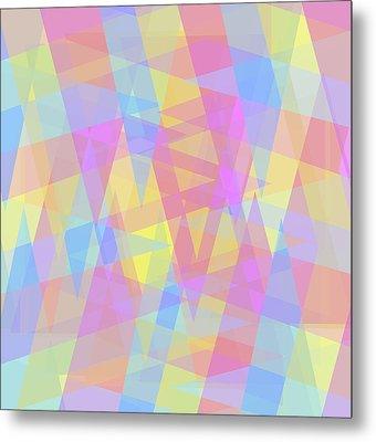 Triangle Jumble 2 Metal Print by Shawna Rowe