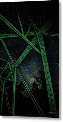 Triangulation Metal Print