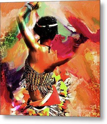 Tribal Dance 0321 Metal Print by Gull G