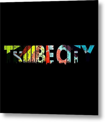Tribe Lives Metal Print
