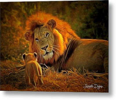 Tribute To Cecil Metal Print