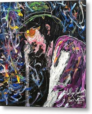 Tribute To Les Claypool Metal Print