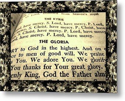Tridentine Missal Metal Print