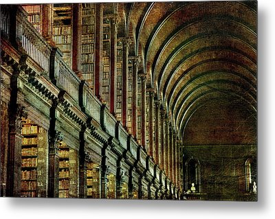 Trinity College Library Metal Print