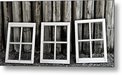 Metal Print featuring the photograph Trio by Brad Allen Fine Art