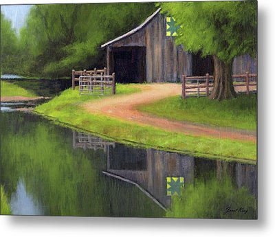 Triple L Ranch  Metal Print by Janet King