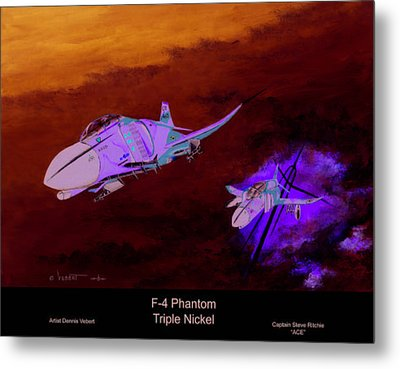 Tripple Nickel Metal Print by Dennis Vebert