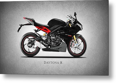 Triumph Daytona R Metal Print by Mark Rogan