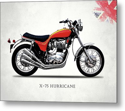 Triumph Hurricane Metal Print