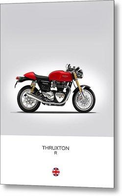 Triumph Thruxton R Metal Print