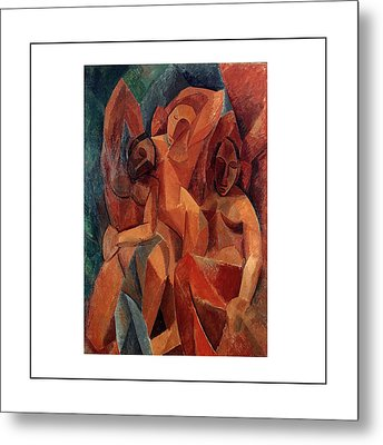 Trois Femmes Three Women  Metal Print by Pablo Picasso
