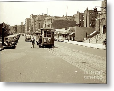 Metal Print featuring the photograph Trolley Time by Cole Thompson