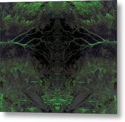 Tropical Bower Metal Print