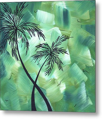Tropical Dance 3 By Madart Metal Print by Megan Duncanson