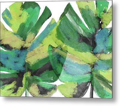 Metal Print featuring the mixed media Tropical Dreams 1- Art By Linda Woods by Linda Woods