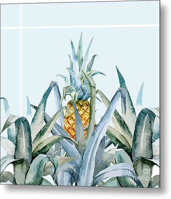 Tropical Feeling  Metal Print