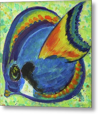Tropical Fish Series 3 Of 4 Metal Print