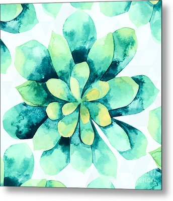 Tropical Flower  Metal Print by Mark Ashkenazi