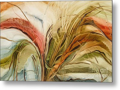 Tropical Forest Metal Print by Fatima Stamato