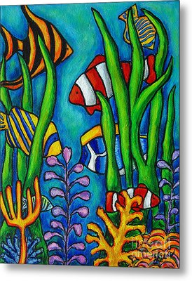 Tropical Gems Metal Print by Lisa  Lorenz