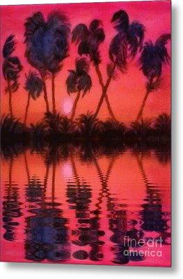 Tropical Heat Wave Metal Print