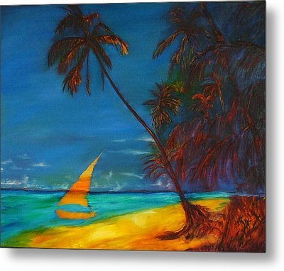 Tropical Islands Metal Print by Gregory Allen Page