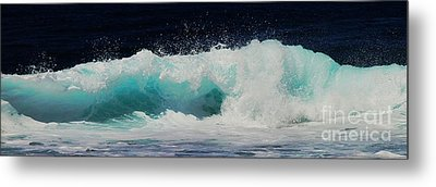 Tropical Ocean Surf Metal Print
