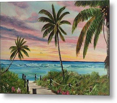 Tropical Paradise Metal Print by Lloyd Dobson