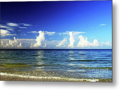 Metal Print featuring the photograph Tropical Storm Brewing by Gary Wonning