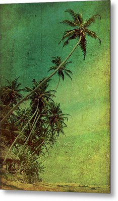 Tropical Vestige Metal Print